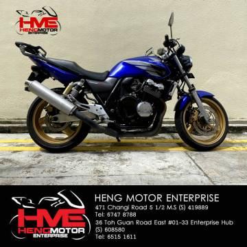 Honda CB400 VTEC 3